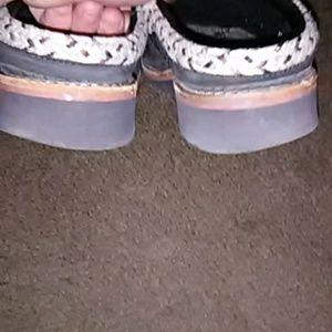 Simple Shoes - Black suede Clogs